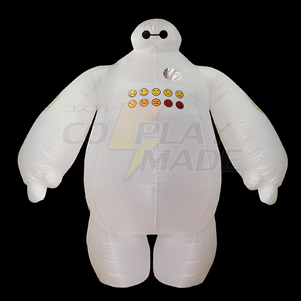 Adult Inflatable Big Hero 6 Baymax Costume Halloween Cosplay