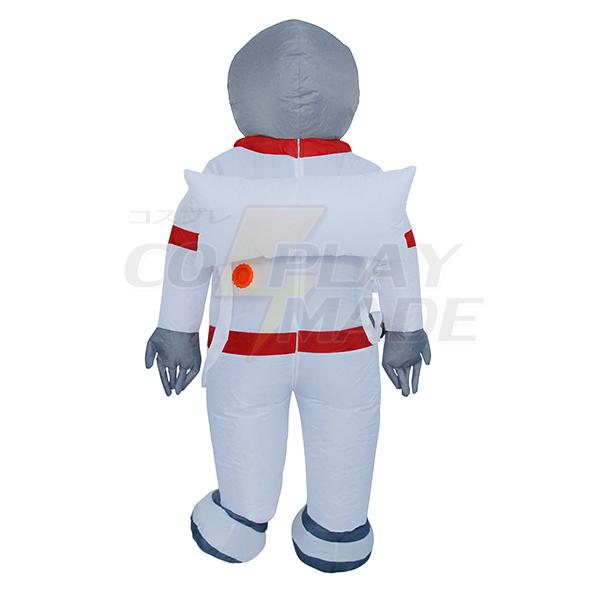 Voksen Oppustelig Spaceman Kostume Halloween Cosplay Fastelavn