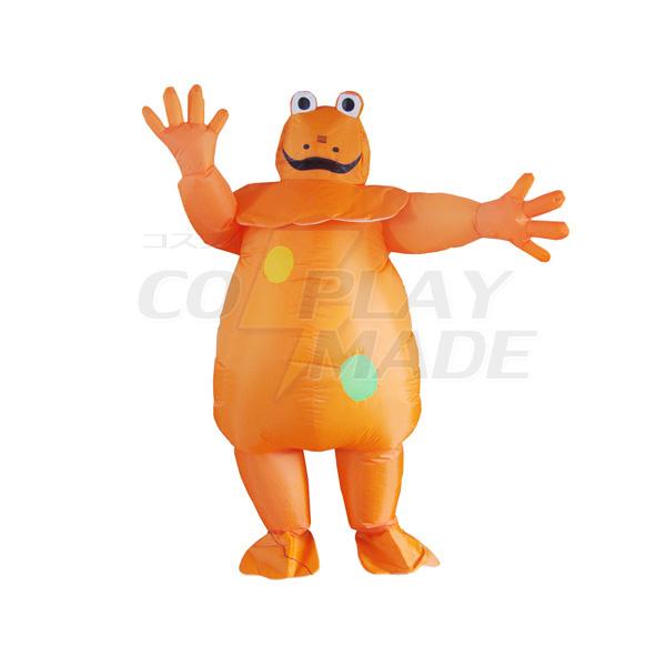 Adult Inflatable Frog Costume Halloween Cosplay