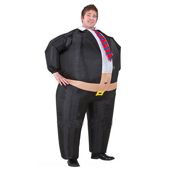 Adult Inflatable Boss Suits Costume Halloween Cosplay