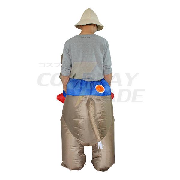 Adult Inflatable Elephant Costume Halloween Cosplay