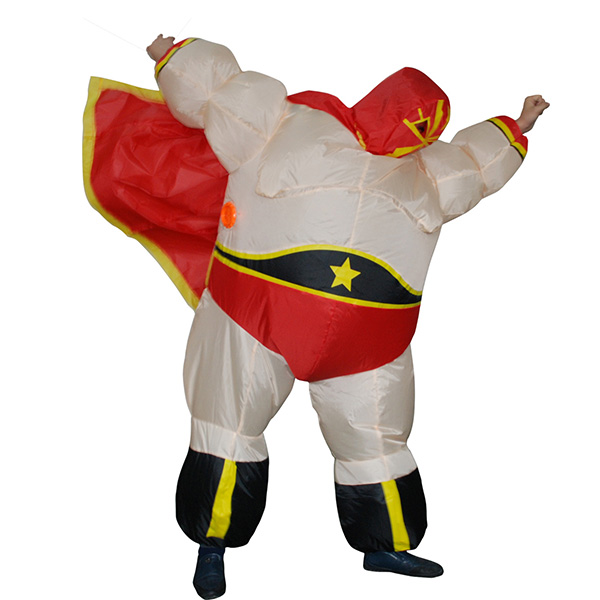 Adult Inflatable Wrestler Costume Halloween Cosplay