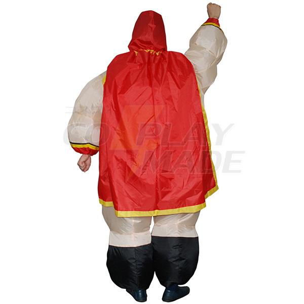 Adult Inflatable Wrestler Costume Halloween Cosplay