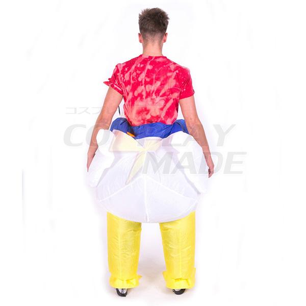 Adult Inflatable Chicken Costume Halloween Cosplay