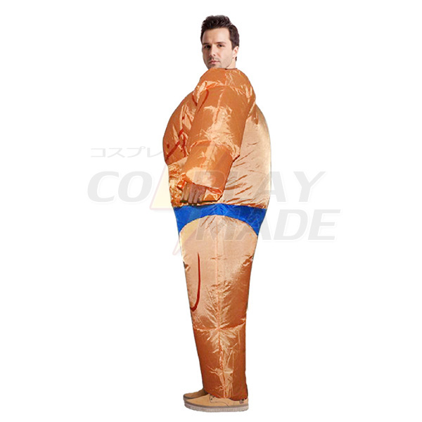Voksen Oppustelig Muskel Mand Kostume Halloween Cosplay Fastelavn