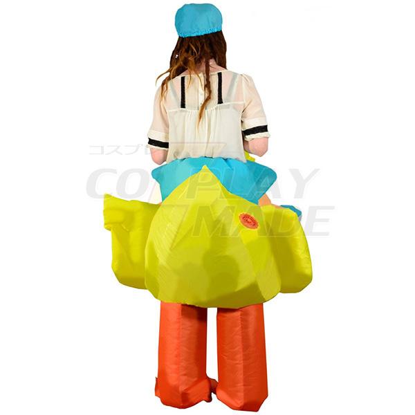 Erwachsene Aufblasbar Ente Kostüm Halloween Faschings Kostüme Purim Carnaval