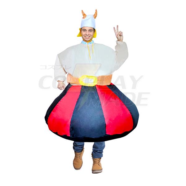 Erwachsene Aufblasbar Rot Und Weiß Und Schwarz Kostüm Halloween Karnevals Kostüme Purim Carnaval