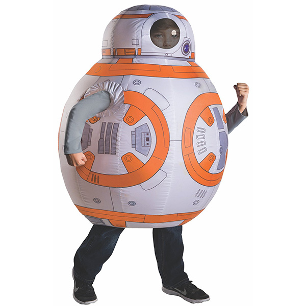 Inflavel Star Wars BB Episode VII The Force Awakens Fantasias Halloween Crianças Cosplay