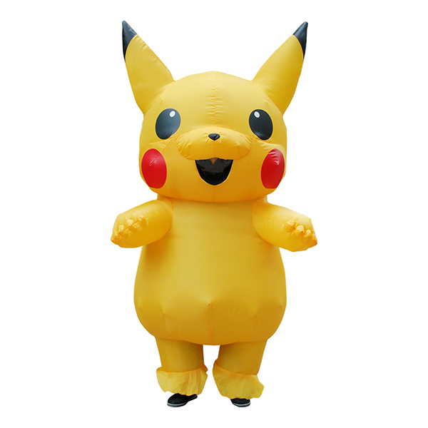 Kids Inflatable Pikachu Costume Halloween Children Cosplay