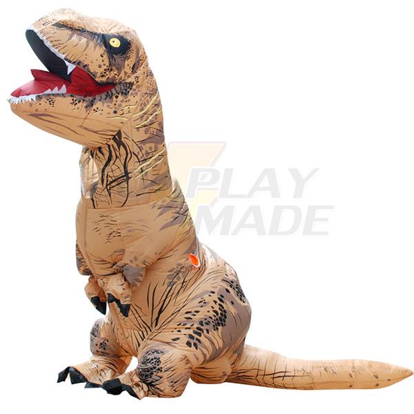 Kids Inflatable T-REX Costume Halloween Children Cosplay