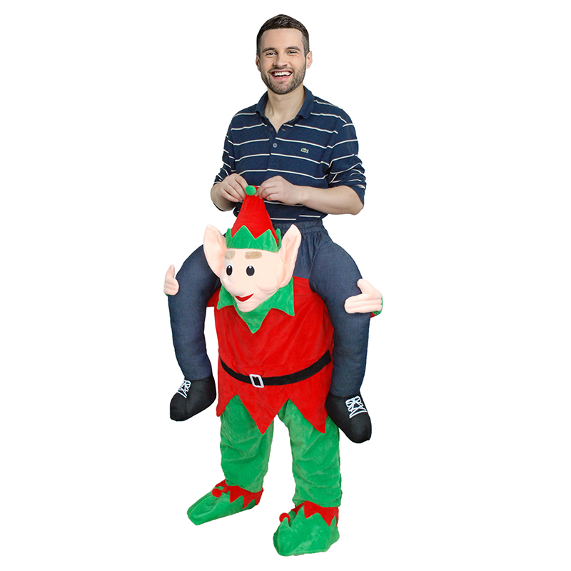 Erwachsene Carry Me (Huckepack) Kostüme ELF Piggy Maskottchen Hosen – Faschingskostüme