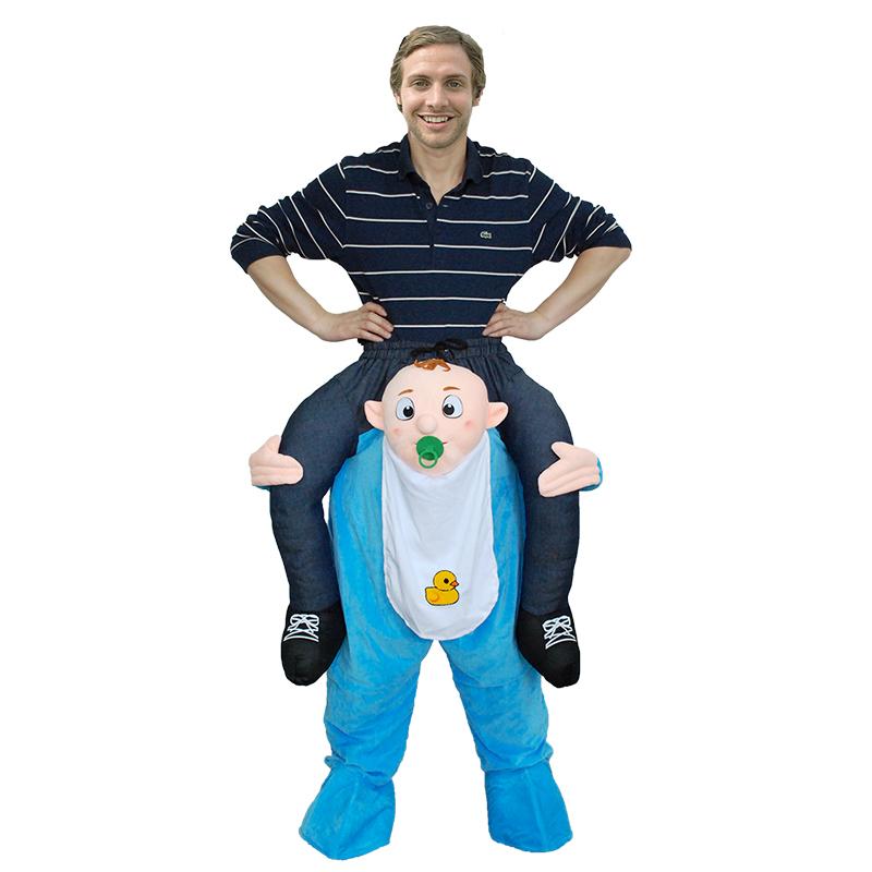 Erwachsene Carry Me (Huckepack) Kostüme Baby Maskottchen Hosen – Faschingskostüme