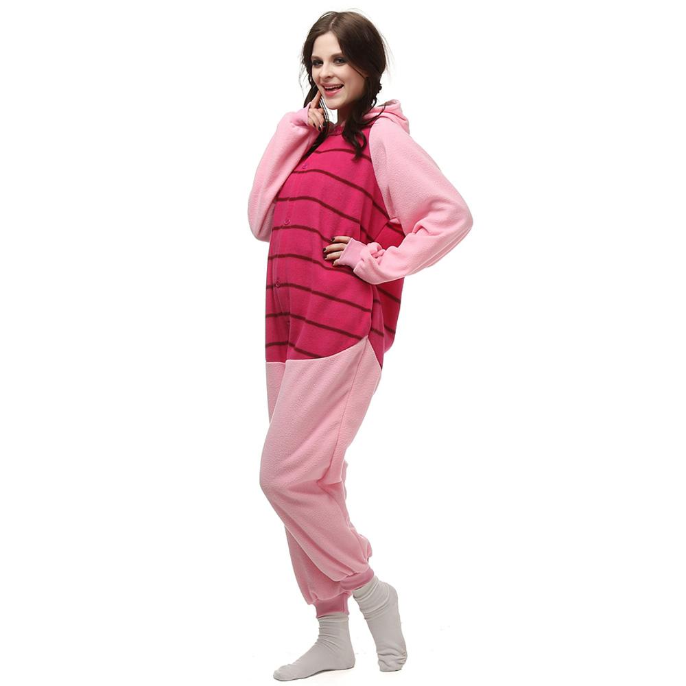 Piglet Pig Kigurumi Costume Unisex Fleece Pajamas Onesie