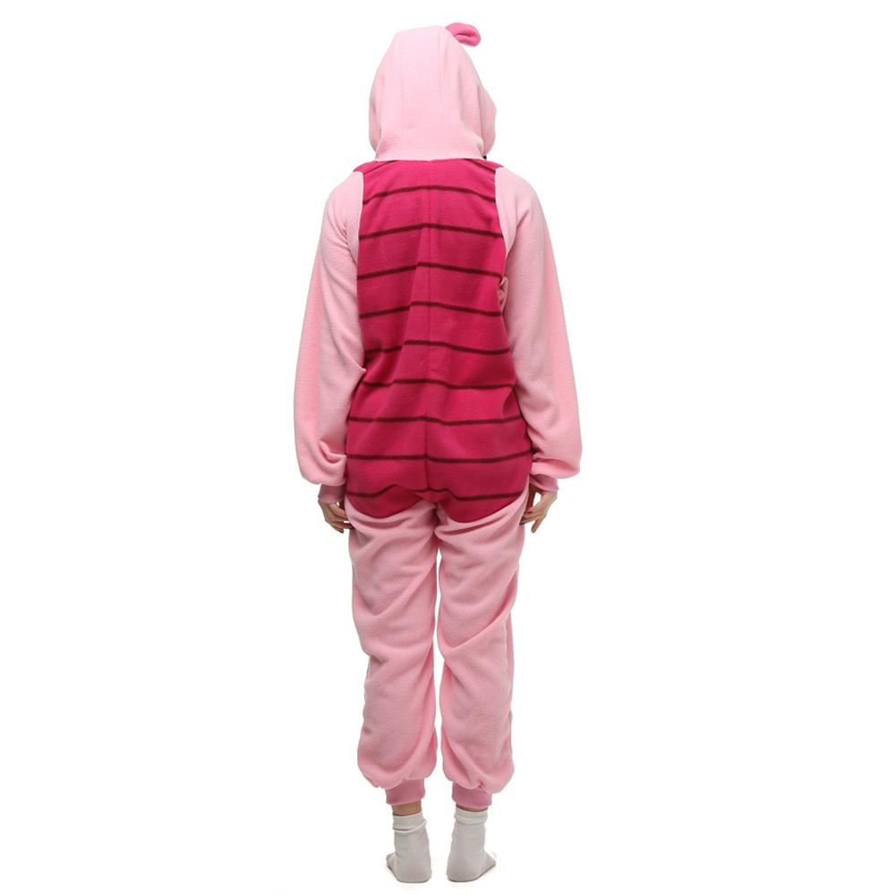 Knorretje Varken Kigurumi Kostuum Unisex Vlies Pyjama Onesie