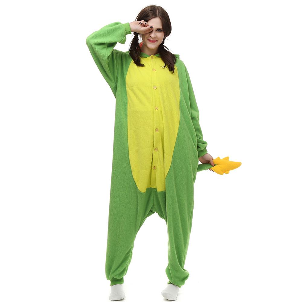 Chinese Dragon Kigurumi Kostuum Unisex Vlies Pyjama Onesie