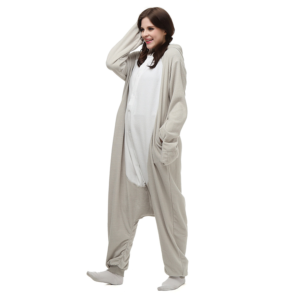 Ægte sæler Kigurumi Kostume Fleece Pyjamas Onesie