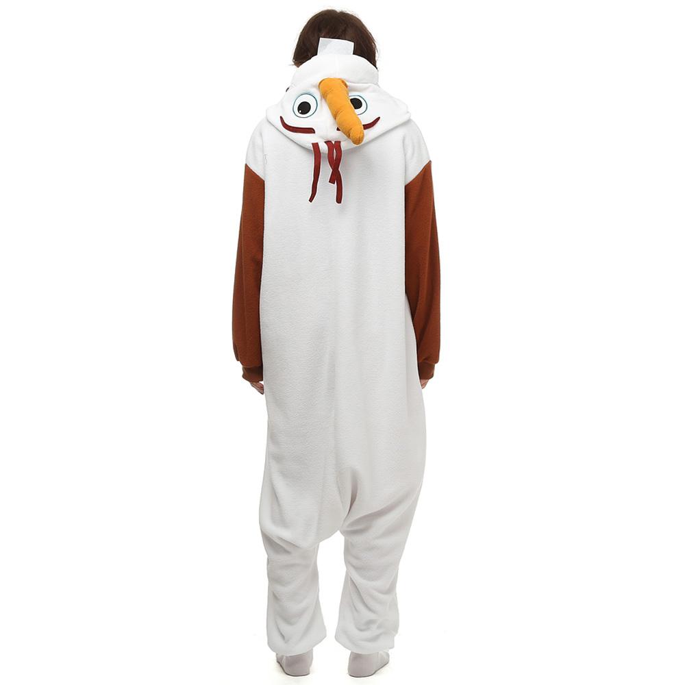Olaf Kigurumi Kostuum Unisex Vlies Pyjama Onesie