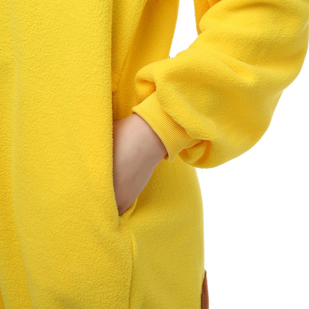 Pokemon Pikachu Kigurumi Kostuum Unisex Vlies Pyjama Onesie