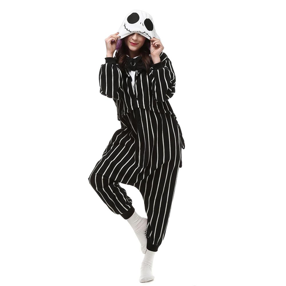 Suicide Squad Joker Kigurumi Costumi Unisex Fleece Pigiama Onesie