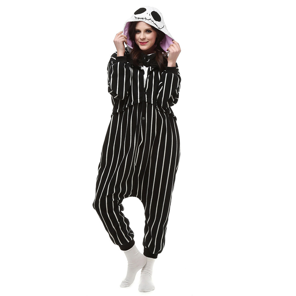 Suicide Squad Joker Kigurumi Kostume Fleece Pyjamas Onesie