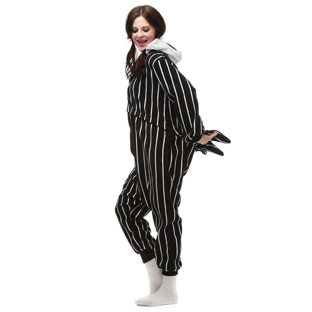 Suicide Squad Joker Kigurumi Kostuum Unisex Vlies Pyjama Onesie