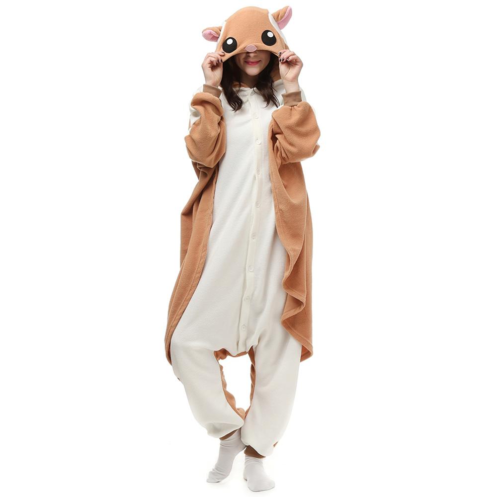 Topo Gigio Chopper Kigurumi Costume Unisex Fleece Pajamas Onesie