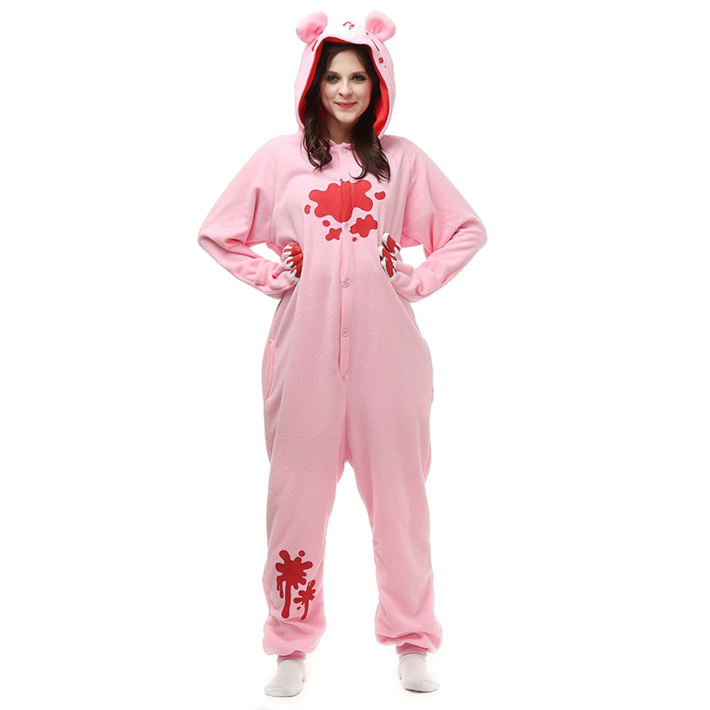 Gloomy Bear Kigurumi Costume Unisex Fleece Pajamas Onesie