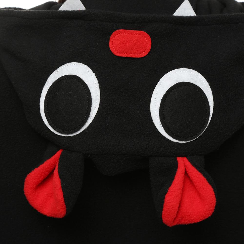 Vleermuizen Kigurumi Kostuum Unisex Vlies Pyjama Onesie