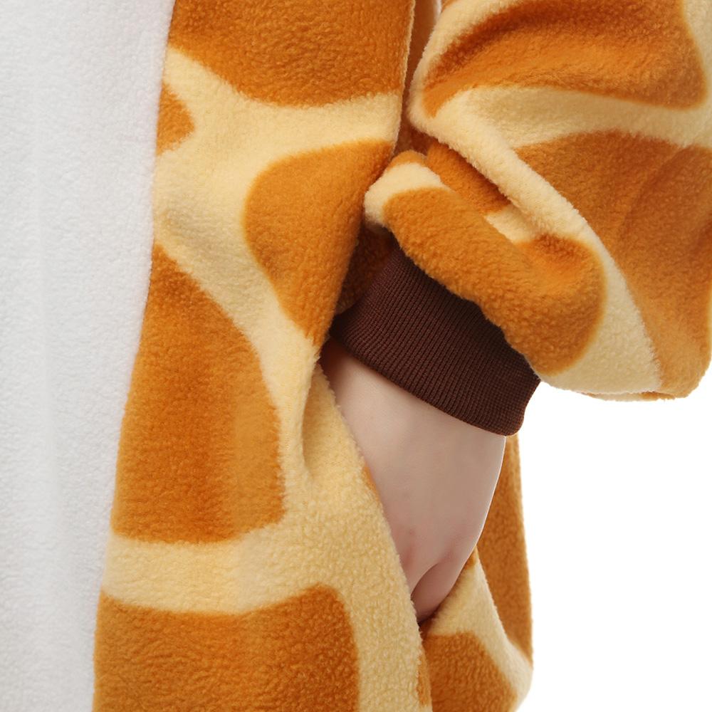 Giraffa Kigurumi Kostuum Unisex Vlies Pyjama Onesie