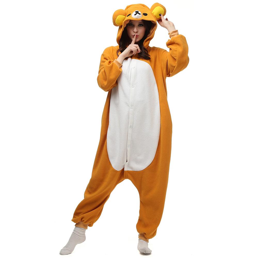 Rilakkuma Kigurumi Costume Toison Pyjama Onesie