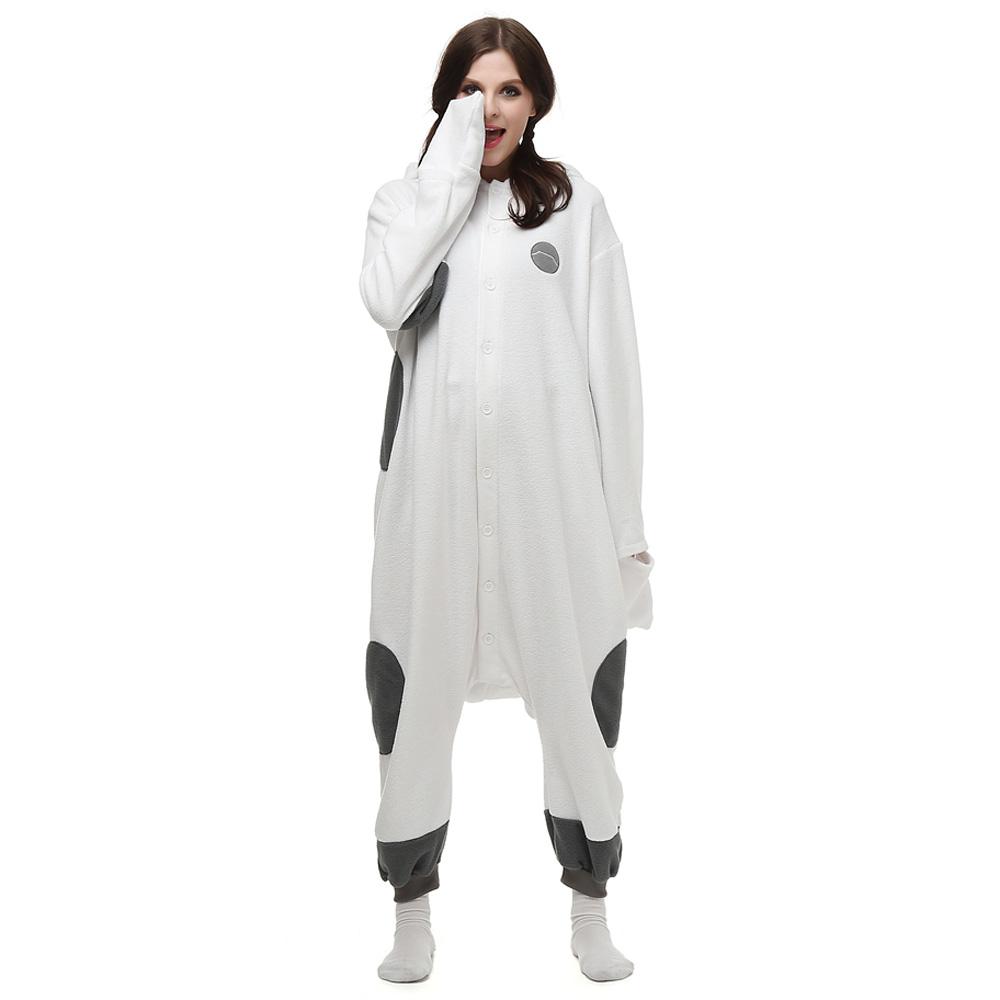 Big Hero 6 Baymax Kigurumi Kostuum Unisex Vlies Pyjama Onesie