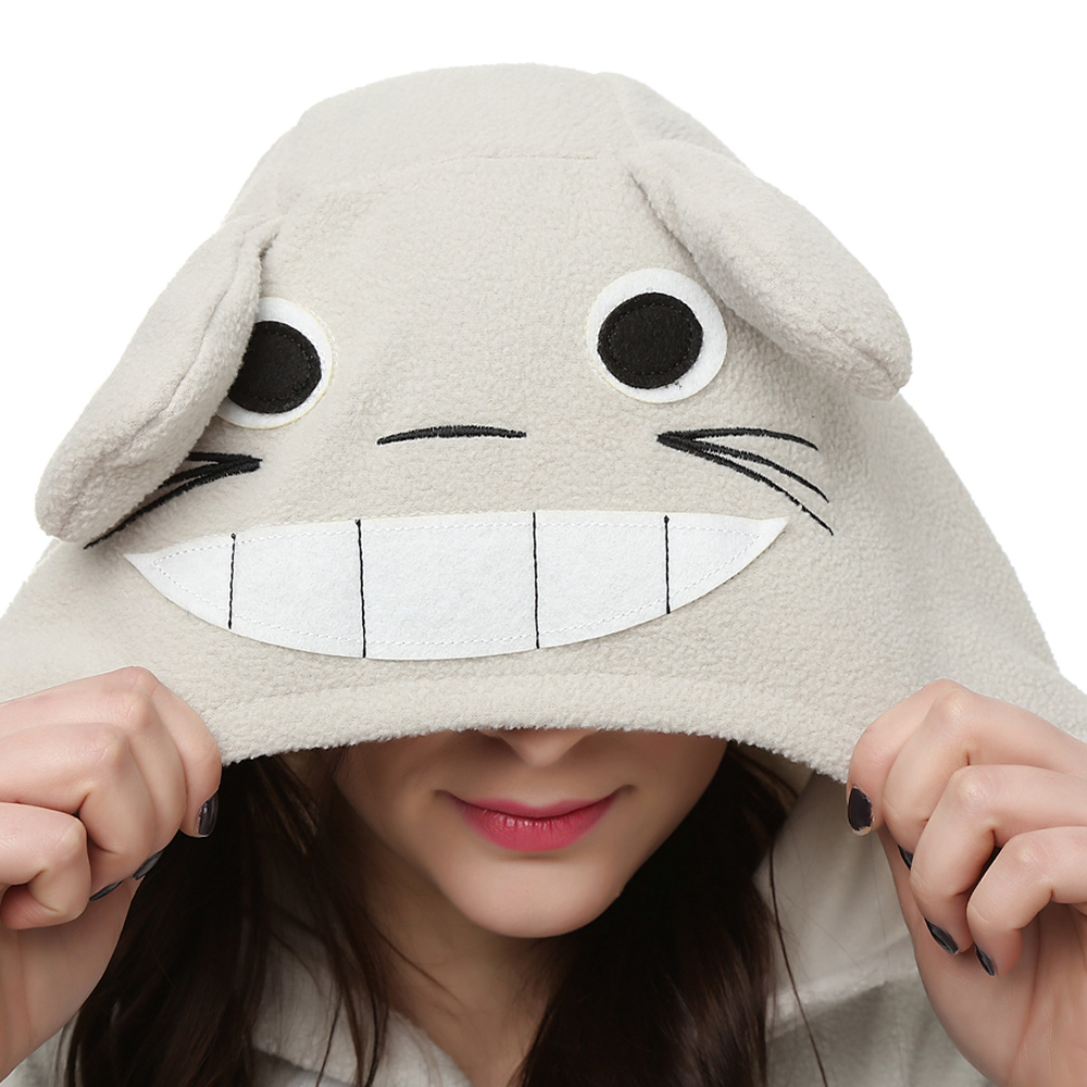 My Neighbor Totoro Kigurumi Kostuum Unisex Vlies Pyjama Onesie