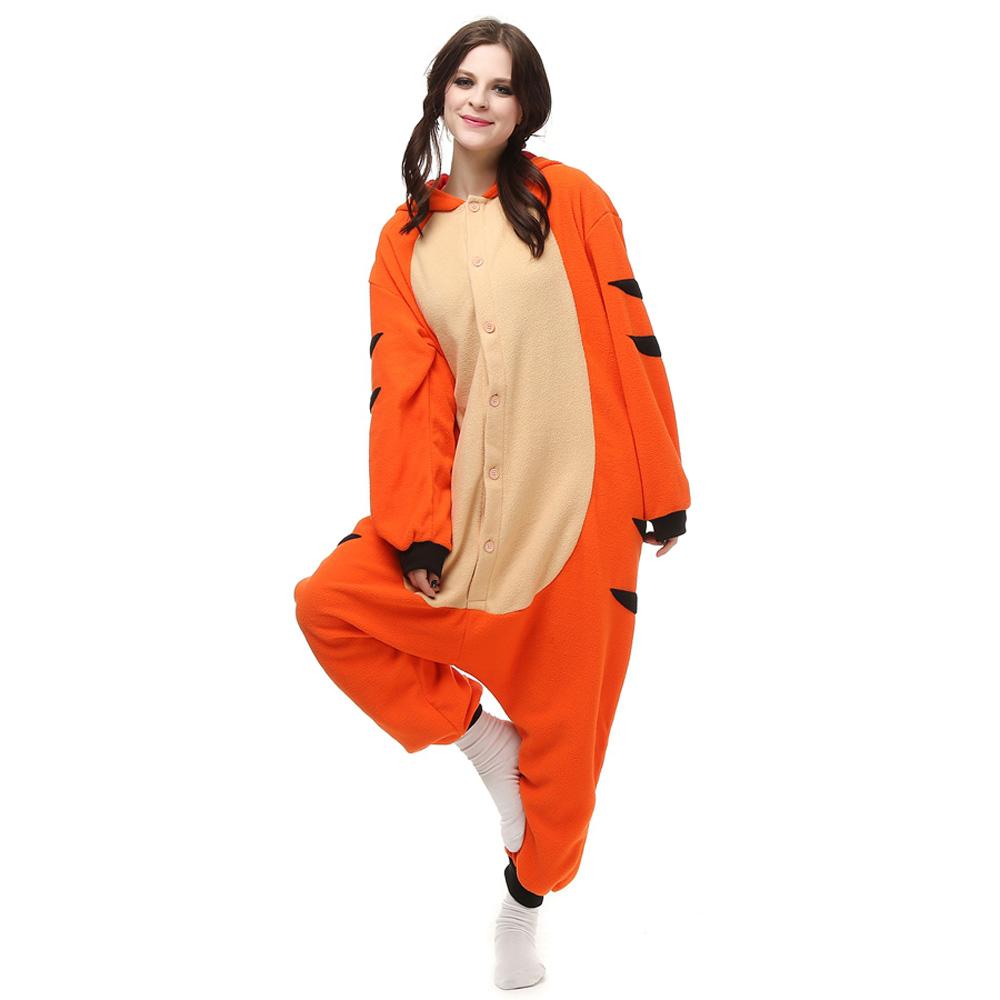 Teigetje Kigurumi Kostuum Unisex Vlies Pyjama Onesie