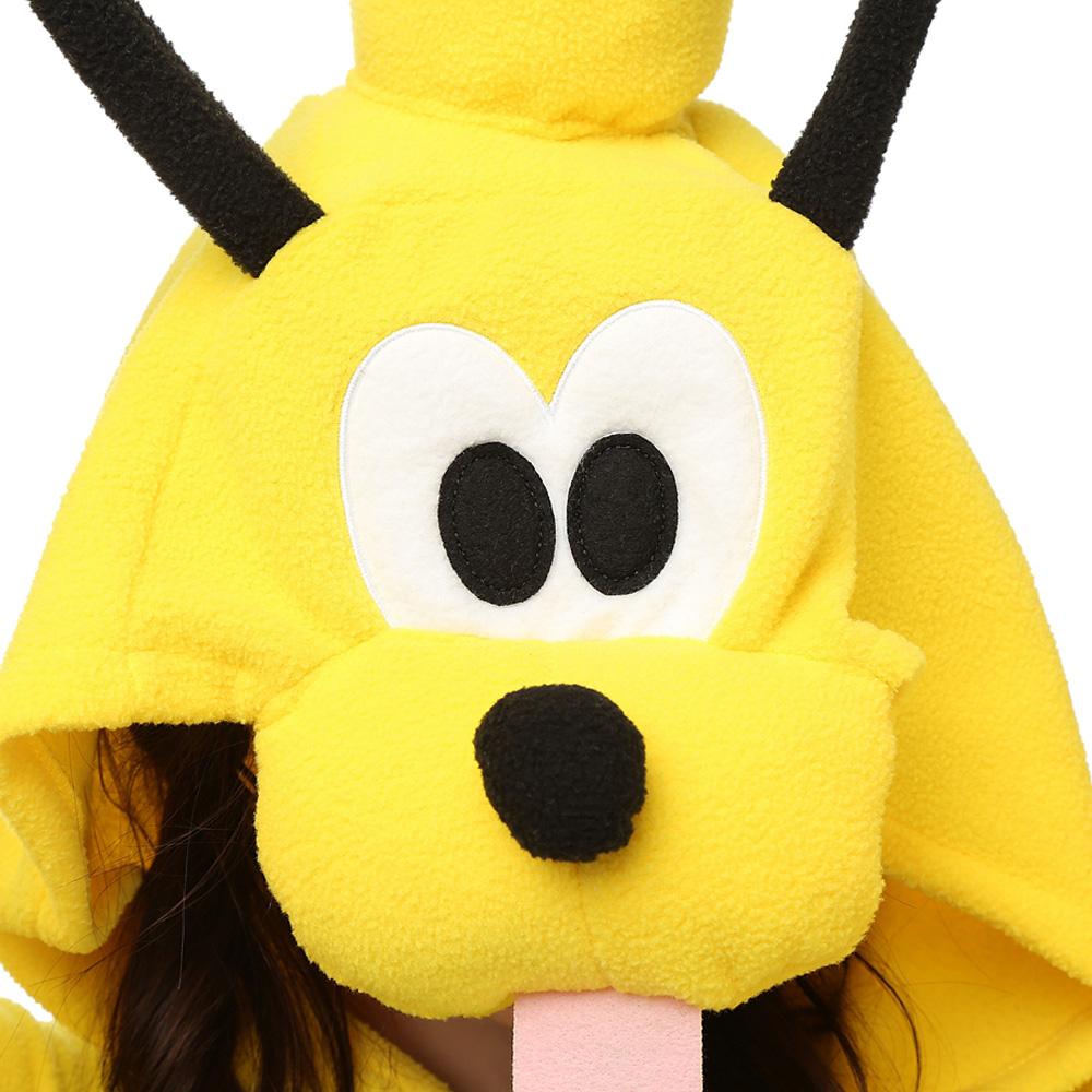 Pluto Hond Kigurumi Kostuum Unisex Vlies Pyjama Onesie
