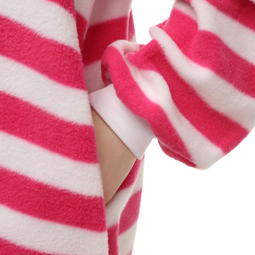 Grinsekatze Kigurumi Kostüme Unisex Vlies Pyjama Gymnastikanzug/Einteiler