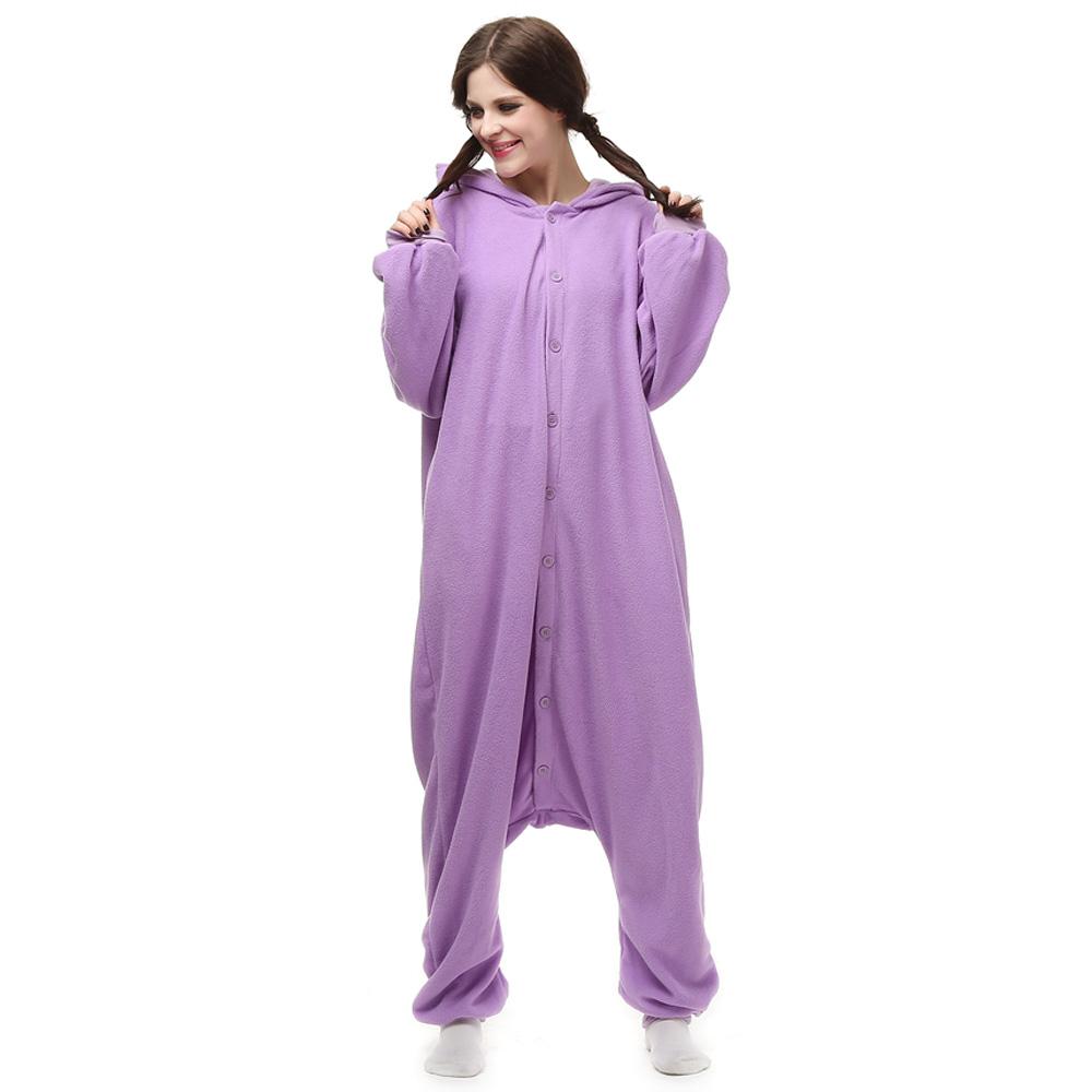 Espeon Kigurumi Kostuum Unisex Vlies Pyjama Onesie