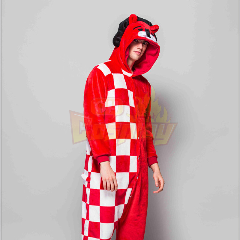 Adult Pajamas Animal Clown Lion Flannel Kigurumi Pajamas
