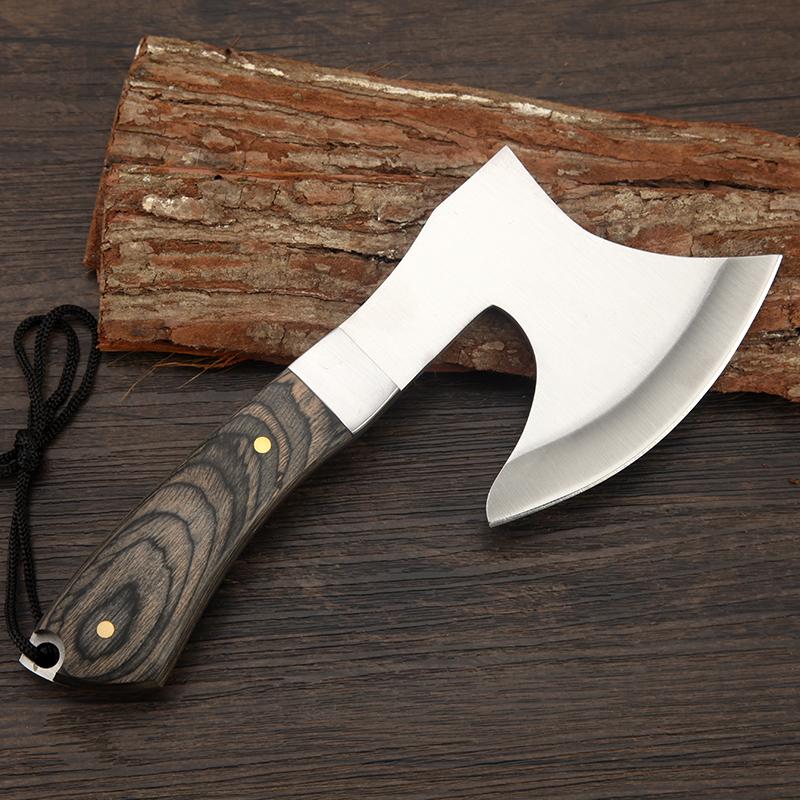 Survival Tomahawk Axes Hatchet Camping Hand Fire Axe Boning Knife