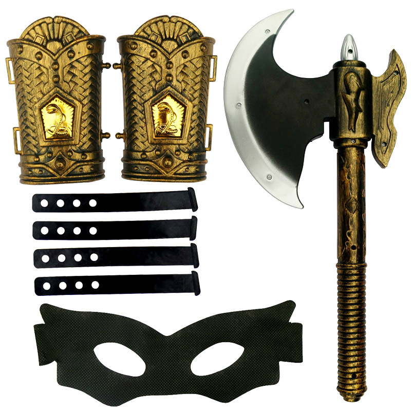 Cosplay Prop Super Hero Plastic Axe Battleaxe combination of traditional archery Weapon