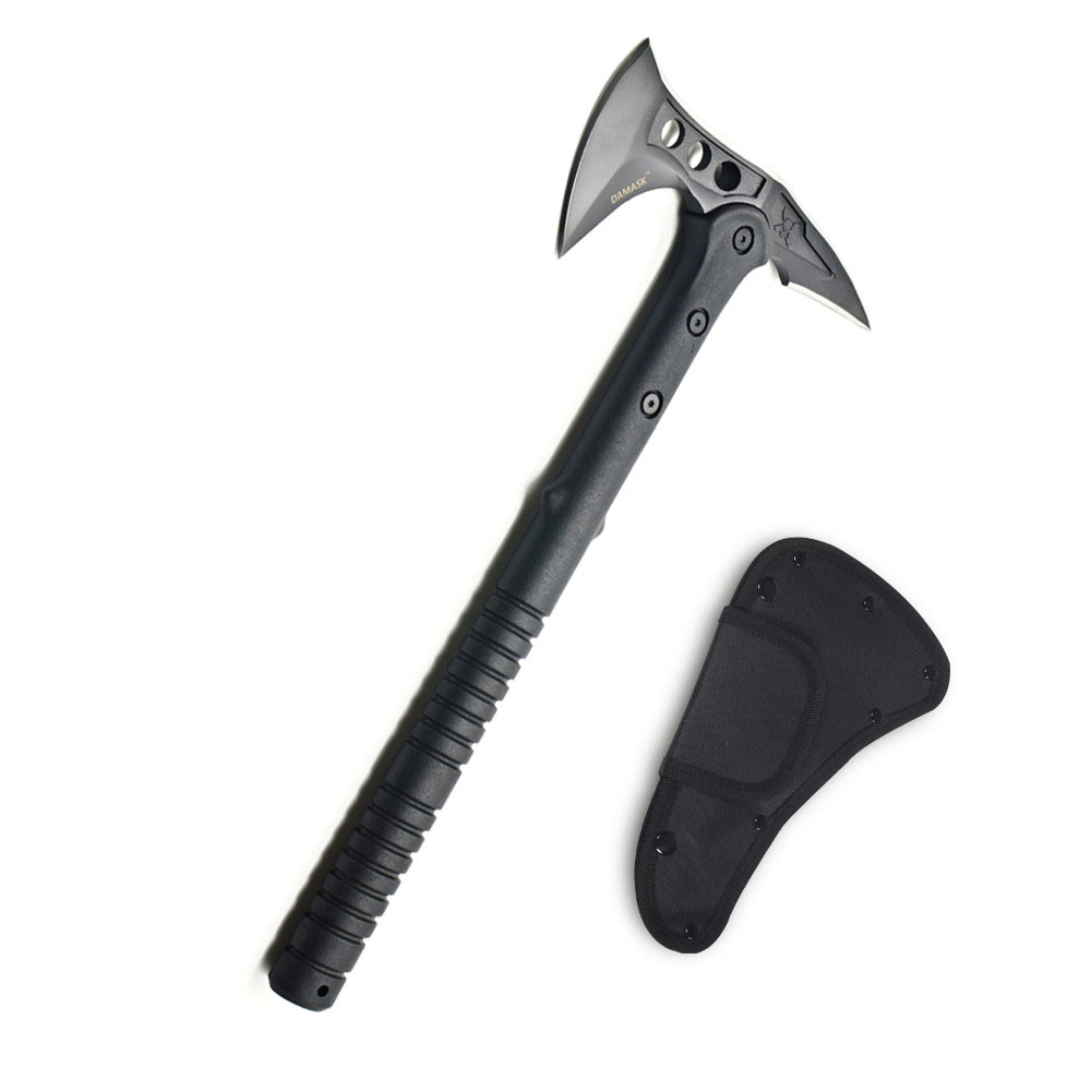 Zombie Preppers Tomahawk Hatchet Tactical Machete Axes Fire Ice Fighting