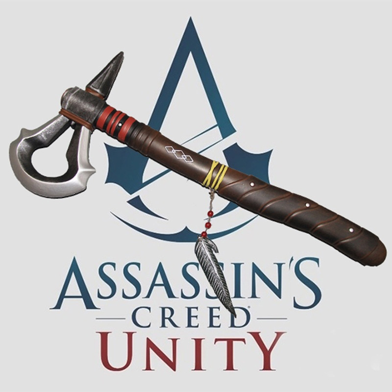 Game Assassin Creed Connor's Axe Cosplay Weapon Prop Toy Accessories
