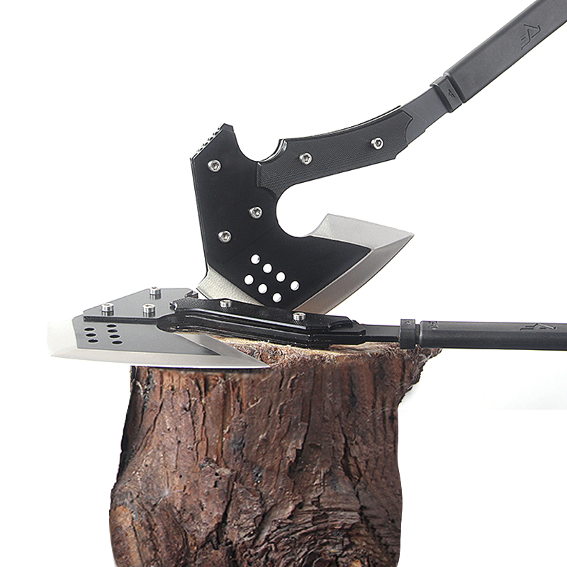 Outdoor Camping Fire Axe Engineers Tomahawk Multi-Function Axe