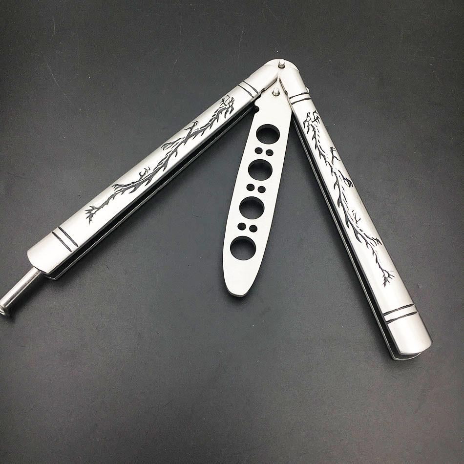 Stainless Steel Butterfly Training Knife Folding Knife