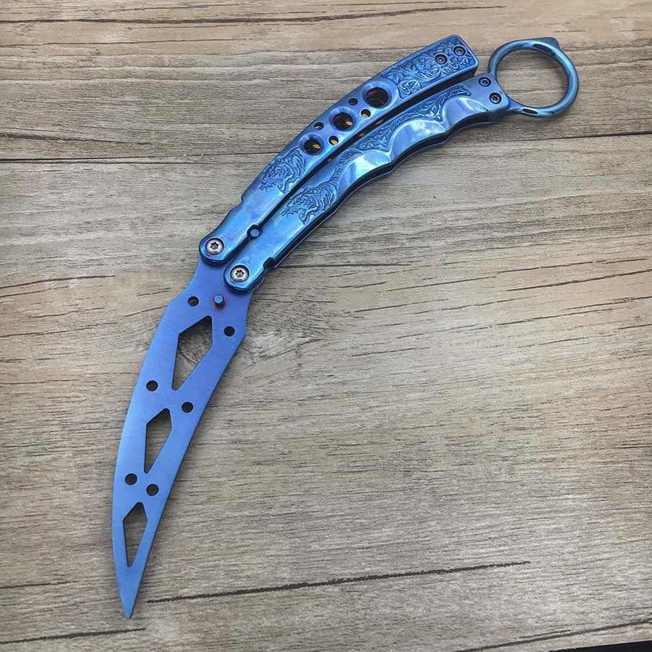 Stainless Steel knife Butterfly Training Knife