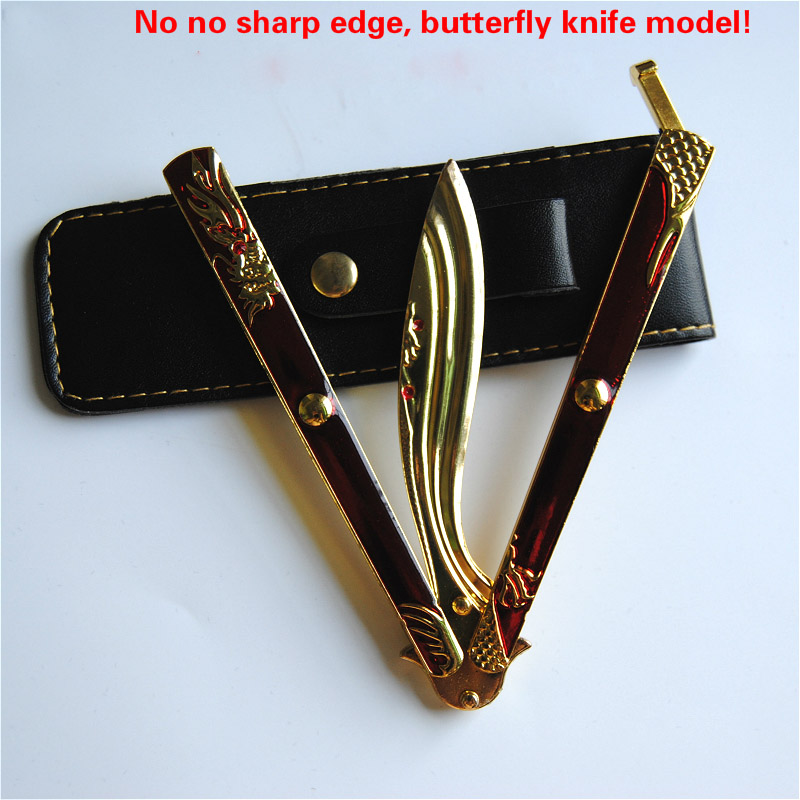 Butterfly Knife Not Sharp Knife Is Suitable For Gift