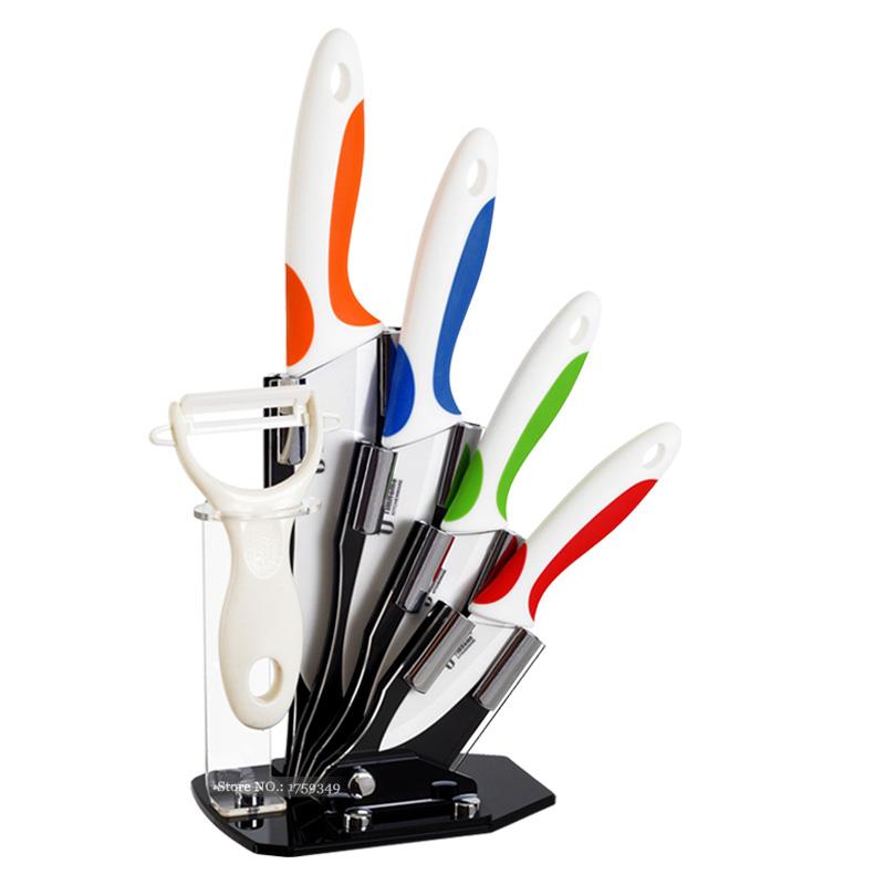 Ceramic Knife set 3 4 5 6 kitchen knife zirconia Paring Fruit Knife