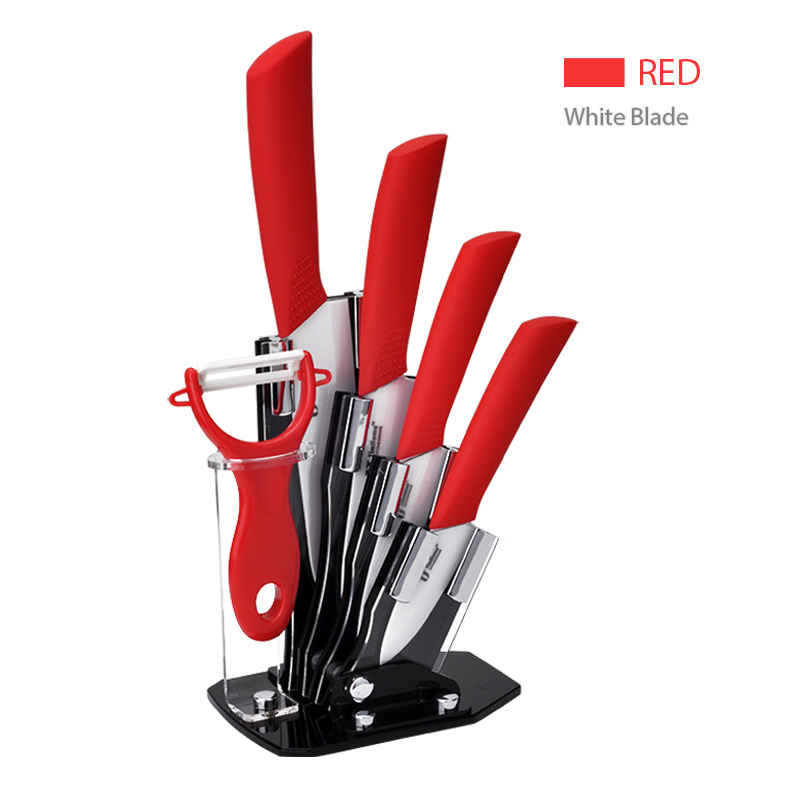 Ceramic Kitchen Knife Sets Ceramic Blade chef knives with ABS+TPR