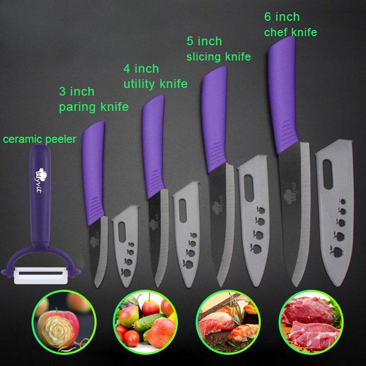 Kitchen Knives Cook Set Ceramic Knives Cook Set 3 4 5 6 inch Zirconia Ceramic