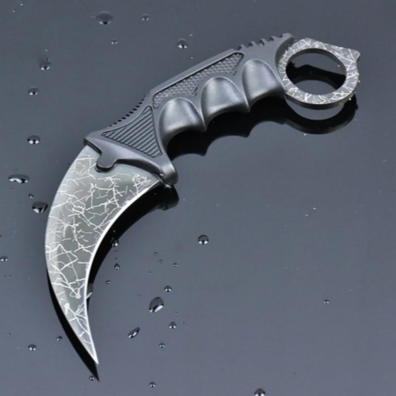 Outdoor Karambit Knife Hunting Knives Camping Tool Survival Tactical Knife