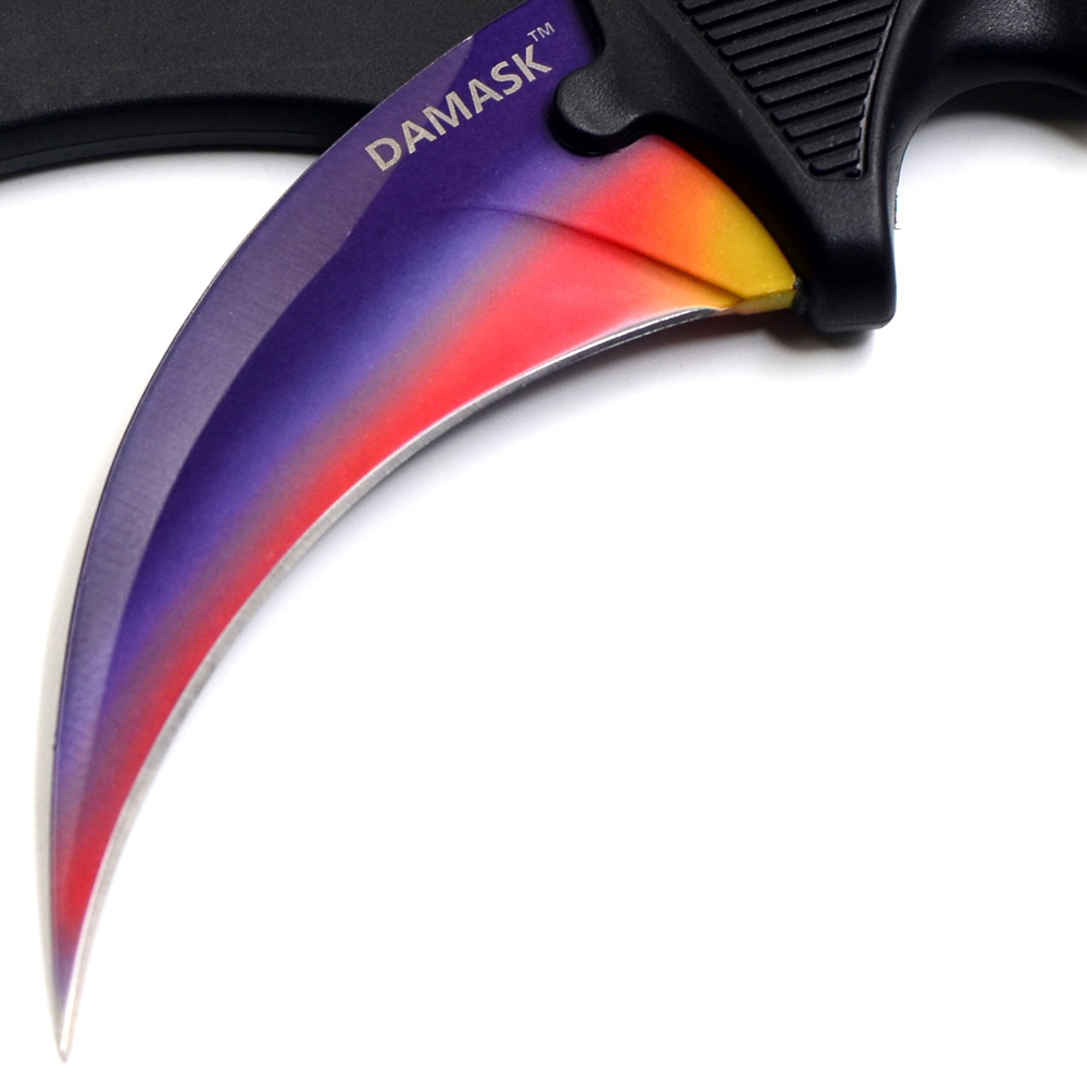 Best Design CSGO Counter Strike Karambit Knife Camping Hunting Tools